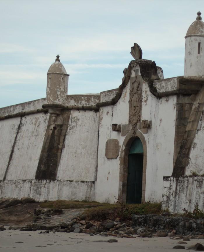 fortaleza ilha do mel fachada